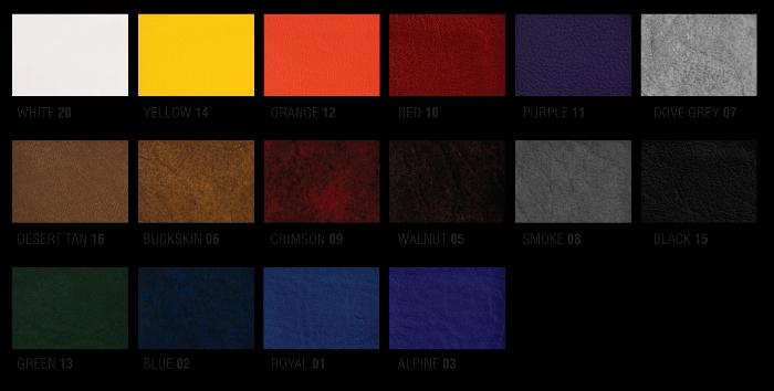 Цветовое решение сидений Mastercraft
