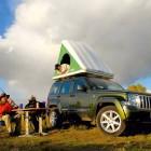 Палатки на крыше или в кузове пикапа